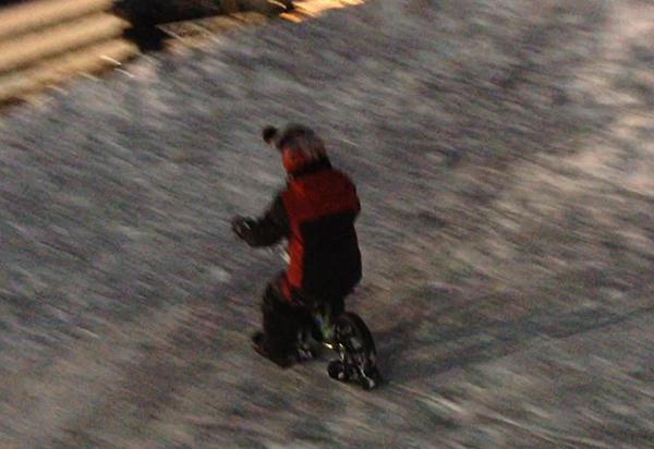 ストライダー スキー
