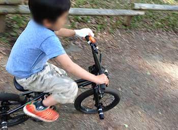 ストライダーの後の自転車 BMX