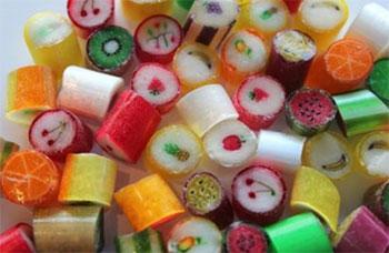 パパバブルのキャンディ